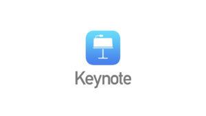 Apple純正プレゼンテーション作成ソフト「Keynote」の特長。