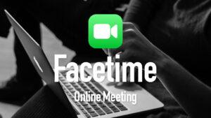 FacetimeはZOOMやTeamsを代替できるか? WWDC2021内容を検証。【結論:できそう】